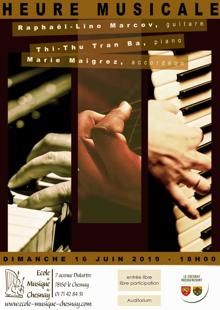 16 juin - Piano accordeon guitare