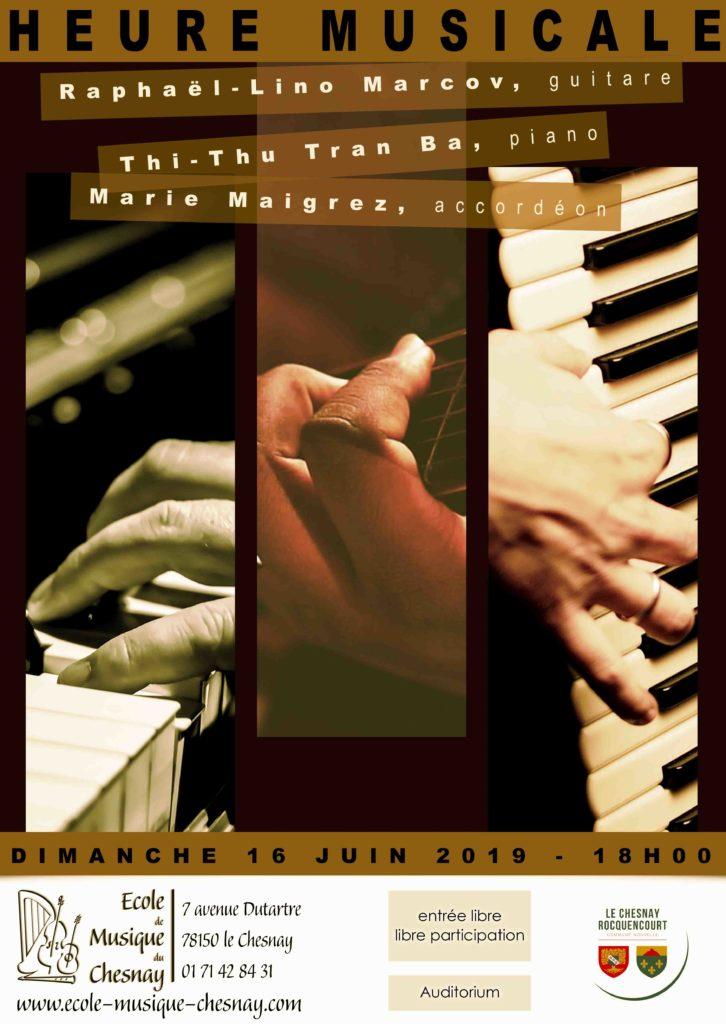 16 juin - Piano accordeon guitare